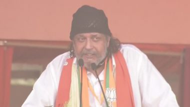 BJP's Mithun Chakraborty Virtually Questioned by Kolkata Police for His Controversial Speech During West Bengal Polls