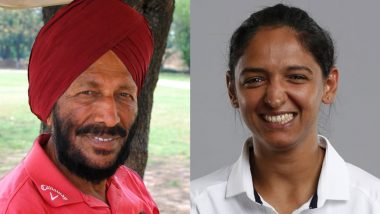 Harmanpreet Kaur Posts Emotional Message Condoling Milkha Singh's Demise, Says 'Keep Your Wings Alive'