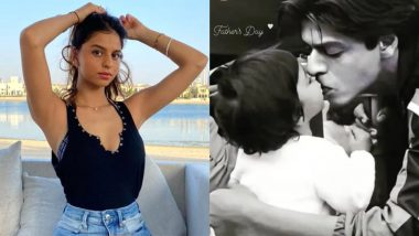 Suhana Khan's Father's Day Wish for Shah Rukh Khan Is Too Cute, Shares an Unseen Photo of the Two!