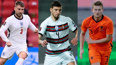 Euro 2020: From Ruben Dias to Matthijs De Ligt, Here Are the Three Defenders To Watch Out For