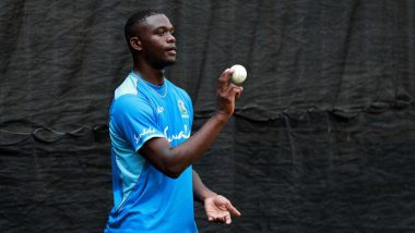 WI vs SA: Young Pacer Jayden Seales Receives His Test Cap From the Legendary Curtly Ambrose, Watch Video
