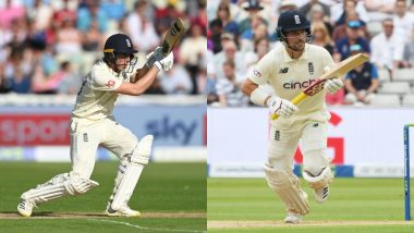 ENG vs NZ, 2nd Test Day 1 Stat Highlights: Rory Burns, Dom Sibley Fight Back After Bowlers Put New Zealand on Top