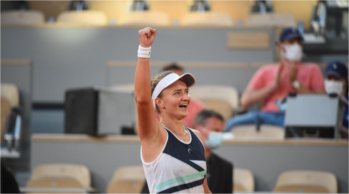 French Open 2021: Barbora Krejcikova Beats Maria Sakkari To Set Up Final Clash Against Anastasia Pavlyuchenkova