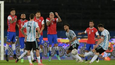 Copa America 2021: Argentina Held by Chile to 1–1 Draw Despite Lionel Messi's Stunning Free-Kick