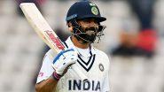 IND vs NZ WTC Final 2021: Virat Kohli Becomes Second Indian Batsman To Score 6000 Test Runs Batting at Number Four