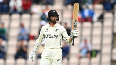 IND vs NZ WTC Final 2021: Devon Conway Hits Third Consecutive 50+ Score in As Many Tests
