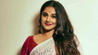 Vidya Balan Shares How Each Character She Portrays on Screen Teaches Her Something