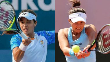 Ankita Raina and Lauren Davis vs Laura Siegemund and Lucie Hradecka, French Open 2021 Live Streaming Online: How to Watch Free Live Telecast of Women's Doubles Tennis Match in India?