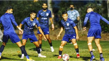 India vs Qatar Live Streaming Online: How To Get IND vs QAT 2022 World Cup and 2023 Asian Cup Qualifier Free Live Telecast on TV & Free Football Score Updates in India?