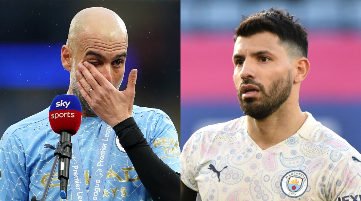 Sergio Aguero's Father Launches Scathing Attack on Manchester City Boss Pep Guardiola