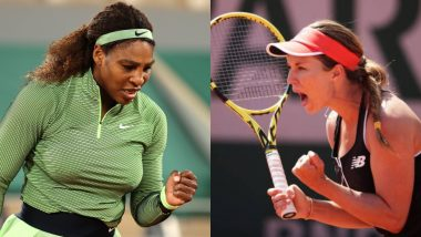 Serena Williams vs Danielle Collins, French Open 2021 Live Streaming Online: How to Watch Free Live Telecast of Women's Singles Tennis Match in India?