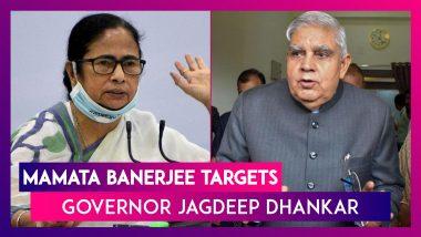 Mamata Banerjee Targets West Bengal Governor Jagdeep Dhankar, Says, 'He Is A Corrupt Man'