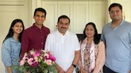 Gautam Adani Celebrates His Birthday, Shares Pic Thanking Wife Priti and Family for Always Being His Joy and Inspiration
