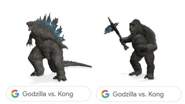 Godzilla View in 3D Google, Kong View in 3D Are Here! Time To Search 'Godzilla vs Kong' by Clicking on 'View in 3D' and Enjoy the Ultimate Clash