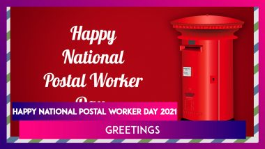 National Postal Worker Day 2021 Wishes, Greetings and WhatsApp Messages To Send on July 1