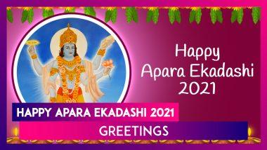 Happy Apara Ekadashi 2021 Greetings: Celebrate Achala Ekadashi Vrat With WhatsApp Messages & Images
