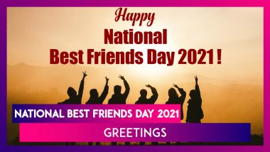 National Best Friends Day 2021 in US: WhatsApp Messages, Greetings and Images To Send to Your BFF