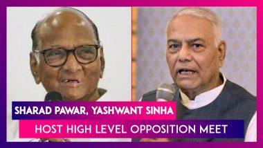 Sharad Pawar, Yashwant Sinha Host High Level Opposition Meet