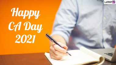 National Chartered Accountants' Day 2021 Wishes & Messages: Celebrate CA Day By Sharing Happy Greetings With Chartered Accountants on July 1