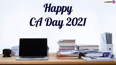 CA Day 2021 Wishes & HD Images: WhatsApp Greetings, SMS, Quotes, Facebook Messages, Telegram Stickers and Wallpapers to Send to Chartered Accountants