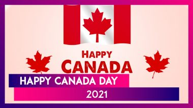 Happy Canada Day 2021 Wishes, Images, Greeting Cards & WhatsApp Messages to Send to Family & Friends