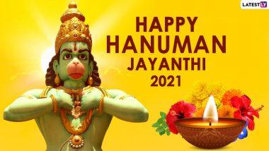Telugu Hanuman Jayanthi 2021: Date, Shubh Muhurat, Puja Vidhi or Rituals and Significance of Hindu Festival Dedicated to Lord Hanuman