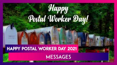 Happy Postal Worker Day 2021 Greetings, Images and Messages To Celebrate Postal Workers' Efforts