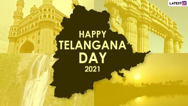 Happy Telangana Day 2021 Images & HD Wallpapers for Free Download Online: Celebrate Telangana Formation Day With WhatsApp Messages and Greetings