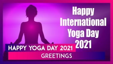 International Day of Yoga 2021 Images, WhatsApp Messages and Greetings To Send to Family on June 21