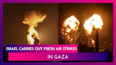 Israel Carries Out Fresh Air Strikes In Gaza After Fire Balloons Launched