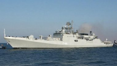 INS Tabar Deployed To Participate in Joint Exercises With Friendly Navies in Africa and Europe