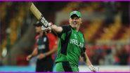Kevin O'Brien, Ireland Batsman, Retires from ODI Cricket