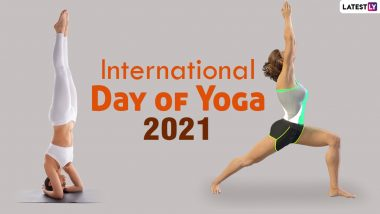 Know Yoga Asana Names in Sanskrit and English Ahead of International Day of Yoga 2021: From Shirshasana to Virabhadrasana; Practice These Yoga Poses in the Comfort of Your Home