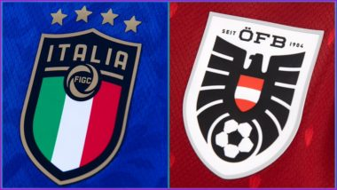 Italy vs Austria, UEFA Euro 2020 Live Streaming Online & Match Time in IST: How to Get Live Telecast of ITA vs AUT on TV & Free Football Score Updates in India