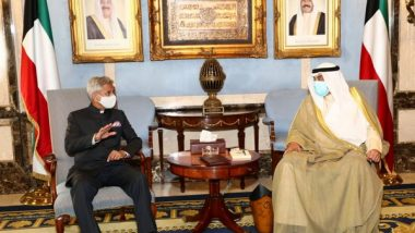 EAM S Jaishankar Interacts with Indian Community in Kuwait, Says 'Visit Focuses on Finding New Areas of Cooperation'