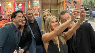 Jennifer Aniston Still 'Basking in Love' From Friends Reunion, Shares BTS Pictures From HBO Max Special