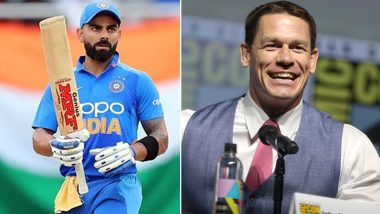 John Cena Posts Virat Kohli's Pic, Fans Say He Is Supporting India for World Cup