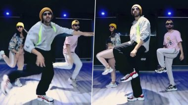 Kartik Aaryan Grooves to Allu Arjun's Butta Bomma and We Are Totally Vibing With Him (Watch Video)