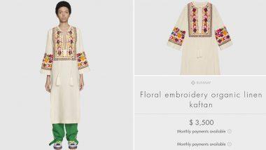 Gucci Selling 'Indian Kurta' for Rs 2.5 Lakh, Desi Twitterati Be Like 'Loot Macha Rakhi Hai'
