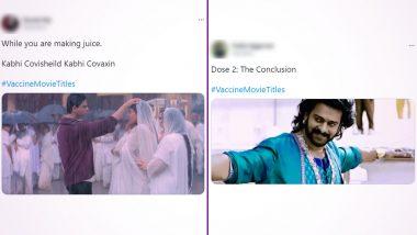 Shah Rukh Khan-Kajol In Kabhi Khushi Kabhie Gham, Prabhas In Baahubali - Twitterati Is Busy Coming Up With Vaccine Movie Titles