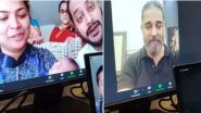 Kamal Haasan Interacts With a Fan Suffering From Brain Cancer Via Video Call