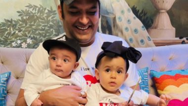 Father's Day 2021: Kapil Sharma Shares The First Picture Of His Son Trishaan Along With His Daughter