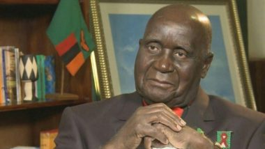 Kenneth Kaunda Dies at 97; PM Narendra Modi Condoles Demise of Zambia's First President