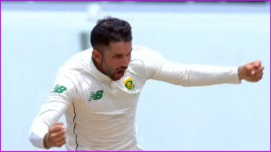 Keshav Maharaj Becomes First South African to Take a Test Hat-Trick Since 1960, Achieves Feat During WI vs SA 2nd Test Day 4