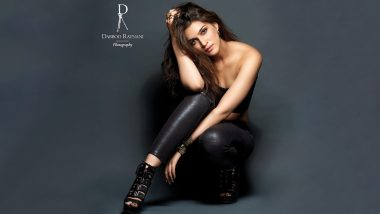 Kriti Sanon Is a Seductress in Black As She Poses for Dabboo Ratnani Calendar 2021; Check Out Her Photoshoot Pic!