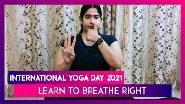 International Yoga Day 2021: Yoga Breathing Techniques to Relieve Stress