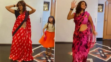 Lakshmi Manchu's Energetic Dance on Thalapathy Vijay's 'Vaathi Coming' in a Saree Goes Viral (Watch Video)