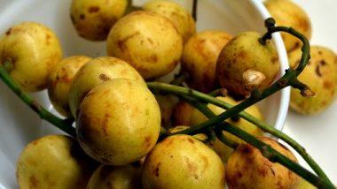 APEDA Exports Shipment of Fresh Burmese Grapes 'Leteku' to Dubai From Guwahati by Air Route