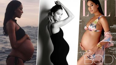 Lisa Haydon Birthday: 8 Times the Model-Actress Flaunted Her Baby Bump and Grabbed Eyeballs (View Pics)