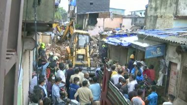 Mumbai Building Collapse: 11 Dead, 7 Injured After 2-Storey Building Collapses in Malvani Area of Malad West; Rescue Operation Underway